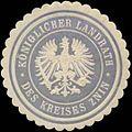 Siegelmarke K. Landrath des Kreises Znin-Pommern W0352188.jpg