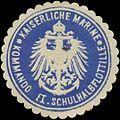Siegelmarke K. Marine Kommando E I. Schulhalbflottille W0352019.jpg