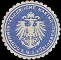 Siegelmarke K. Marine Kommando S.M.S. Königsberg W0357660.jpg