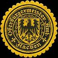Siegelmarke Oberbürgermeister-Amt Aachen W0313357.jpg