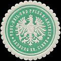 Siegelmarke Prov. Heil- und Pflege-Anstalt Bedburg Kreis Cleve W0344240.jpg