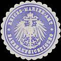 Siegelmarke Reichs-Marine-Amt Baubeaufsichtigung W0363939.jpg