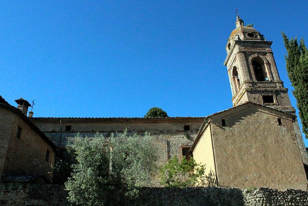 Eremo di San Salvatore di Lecceto (Campanile of the hermitage Eremo di San Salvatore di Lecceto, outside Siena), Siena