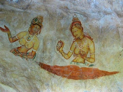 Frescos de Sigiriya