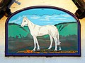 Sign, the White Horse public house, Compton Bassett - geograph.org.uk - 1057767.jpg