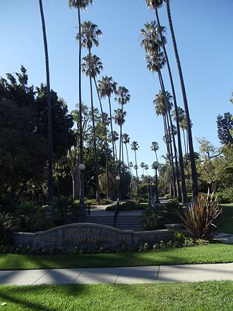 Will Rogers Memorial Park - Image: Sign of the Will Rogers Memorial Park in Beverly Hills, California