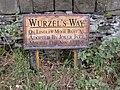 Sign on Old Lindley Moor, Old Lindley - geograph.org.uk - 586835.jpg