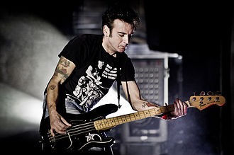 Simon Gallup - Gallup performing in 2012