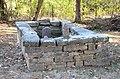 Singleton Family Cemetery, Stone Plot.JPG