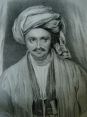 Alexander Burnes - Sir Alexander Burnes in the Costume of Bokharra