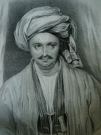 Alexander Burnes - Sir Alexander Burnes in the Costume of Bokharra