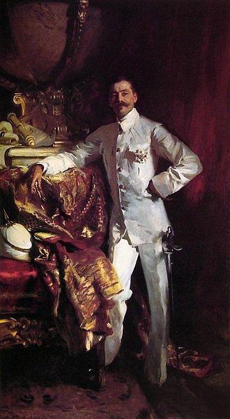 Frank Swettenham - Oil painting of Swettenham by John Singer Sargent