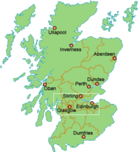 skócia térkép városok Stirling – Wikipédia
