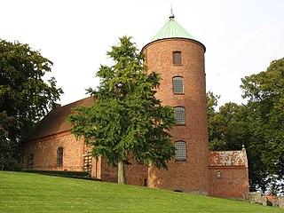 Skanderborg Town in Mid Jutland, Denmark