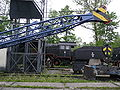 Skansen w Chabówce - dźwig kolejowy 06.JPG