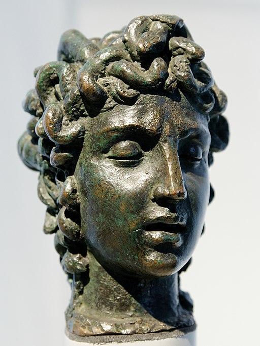 Benvenuto Cellini, Testa di Medusa, modello di schizzo per il gruppo Perseo alla Loggia dei Lanzi a Firenze, Victoria and AlbertMuseum, London