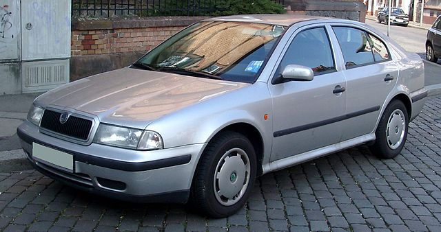 Skoda Octavia I front 20080213
