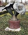 Skulptur Spandauer Damm 130 (Westend) Große Kreuzblume&Emil Cimiotti&1971.jpg