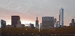 Skyline de Chicago desde el centro, Illinois, Estados Unidos, 2012-10-20, DD 09.jpg
