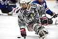 Sled hockey Warriors battle Rampage (15269501896).jpg