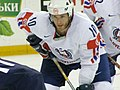 Slovenia VS USA at the IIHF World Hockey Championship 2008 - Dejan Varl.jpg