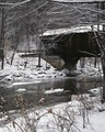 Snow-topped covered bridge in Vermont LCCN2011630240.tif