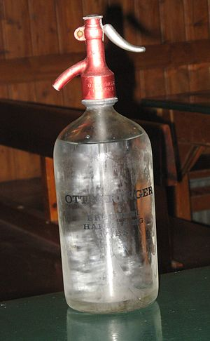 Soda syphon - Brauerei Ottakringer soda siphon 2009