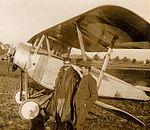 Somme-Vesle. Escadrile N°23. Le sergent M. Colombe. - Fonds Berthelé - 49Fi1875-25.jpg