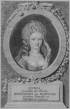 Princess Sophie Friederike of Thurn and Taxis