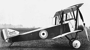 Sopwith Pup - Sopwith Pup side view, 1916