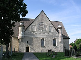 Sorunda - Image: Sorunda Church side 1