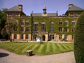 Soughton Hall Grade II* country house & hotel in Flintshire, Wales, UK