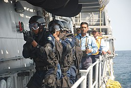 South African soldiers aboard an Indian Navy ship.jpg