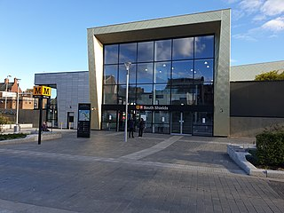 South Shields Interchange Station of the Tyne and Wear Metro