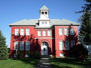 Durand, Michigan - South Side School