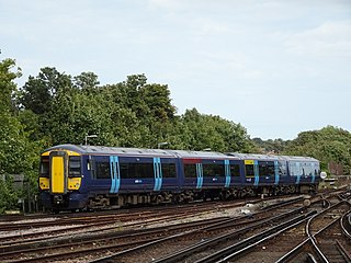 British Rail Class 375 British electric multiple unit train that was built by Bombardier Transportation