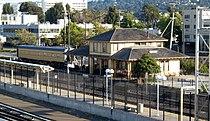 Southern Pacific Depot, 21 E. Millbrae Ave., Millbrae, CA 7-31-2011 6-36-37 PM.JPG