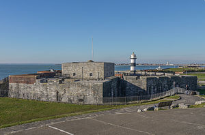 Southsea Castle - Image: Southsea castle from the east