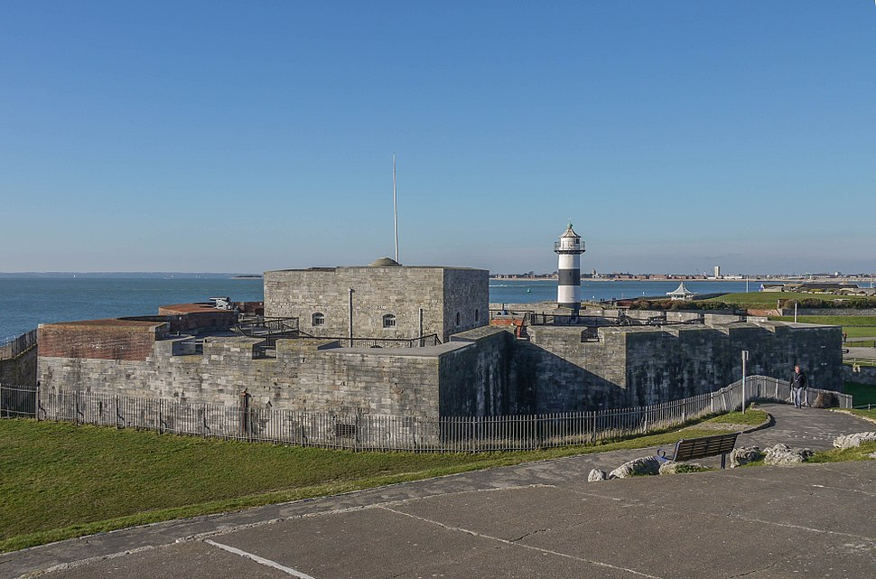 Southsea castle from the east