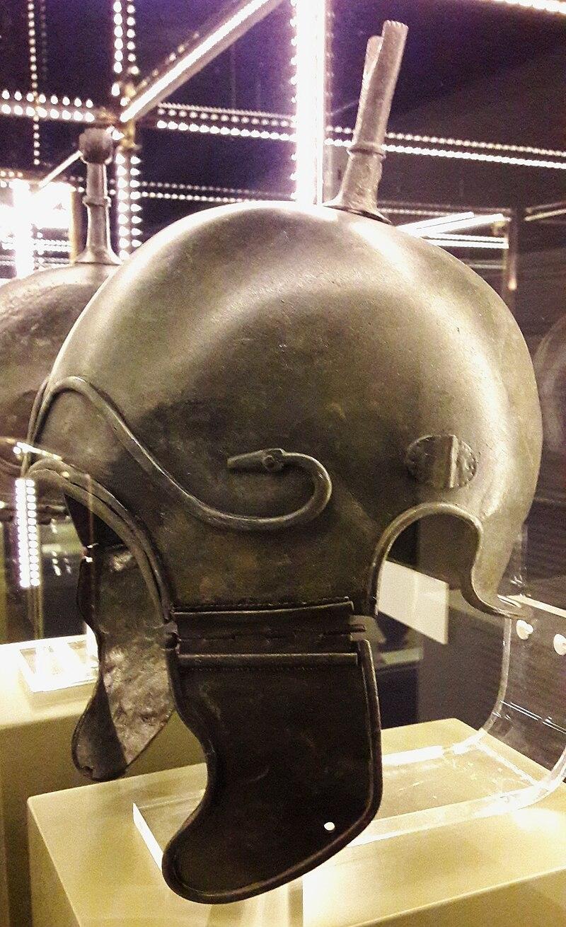 Spain Iberian-Celtic helmet of the Chalcidian type 02.jpg