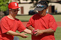 Special Olympians share a bocce ball during a game at Joint Base Pearl Harbor-Hickam, Hawaii, Dec. 4, 2010 101204-F-TP543-226.jpg