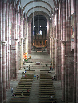 Speyer Cathedral - Interior looking east