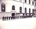 Spjutkastning Gymnastiska Centralinstitutet Stockholm ca 1900.jpg