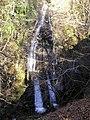 Sput Ban (Spout Bane, Spout Bay) at the Falls of Keltie - geograph.org.uk - 676478.jpg