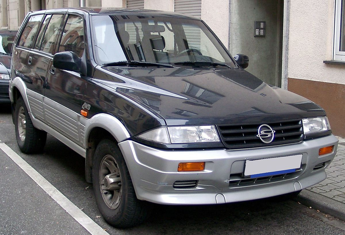 ssangyong musso фото