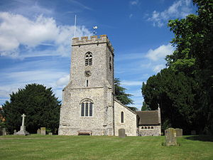 South Stoke, Oxfordshire - Image: St. Andrews Church, South Stoke, Oxfordshire