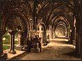 St. Bavon Abbey, the cloister, Ghent, Belgium-LCCN2001697939.jpg