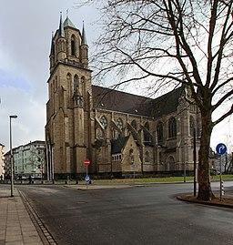 Ludgeriplatz in Duisburg