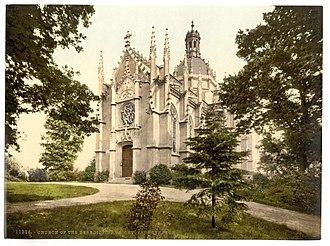 St Michael's Abbey, Farnborough - Saint Michael's Abbey Church
