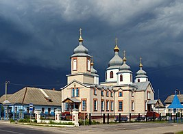 St. Nicholas Cathedral at Dobrush Belarus.JPG